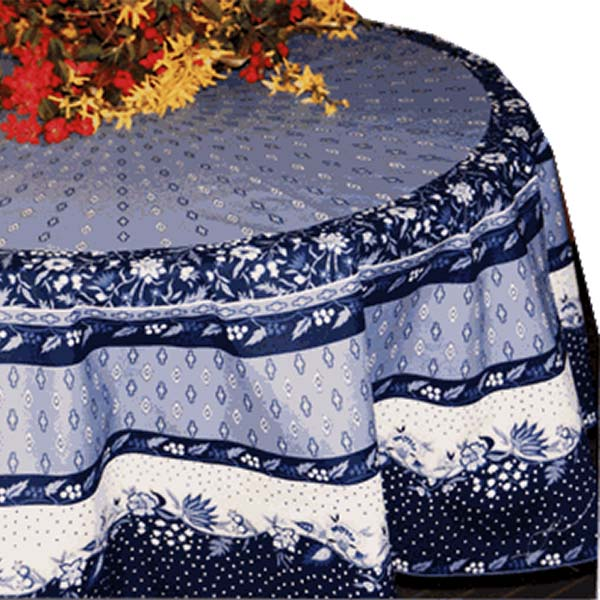 Table Cloth Manosque Blue & White