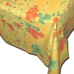 Table Cloth Raisin Rust