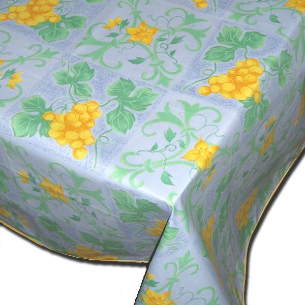 Table Cloth Raisin Blue