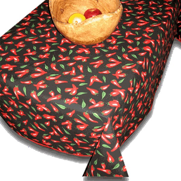 Table Cloth Chili Pepper Collection A Touch Of Provence
