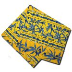Napkins Olive Blue and Yellow