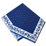 Napkins Gordes Blue & White
