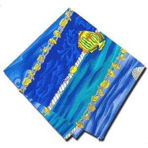 Napkins Atlantis Blue and Yellow