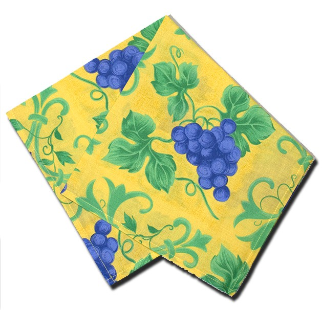 Napkins Raisin Yellow