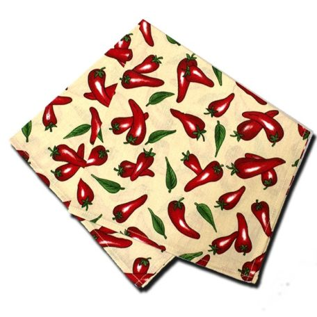 Napkins Chili Pepper Off White