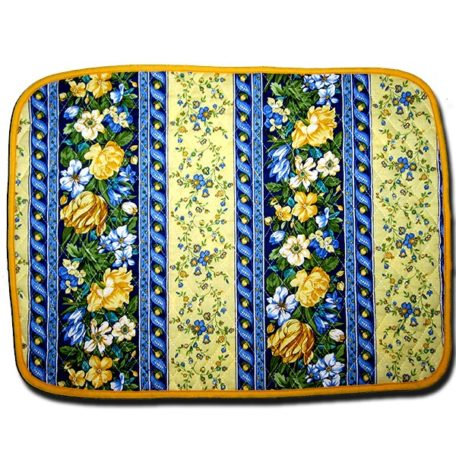 Placemat Royal Blue & Yellow