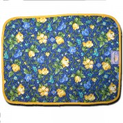 Placemat Royal Blue & Yellow Back Side