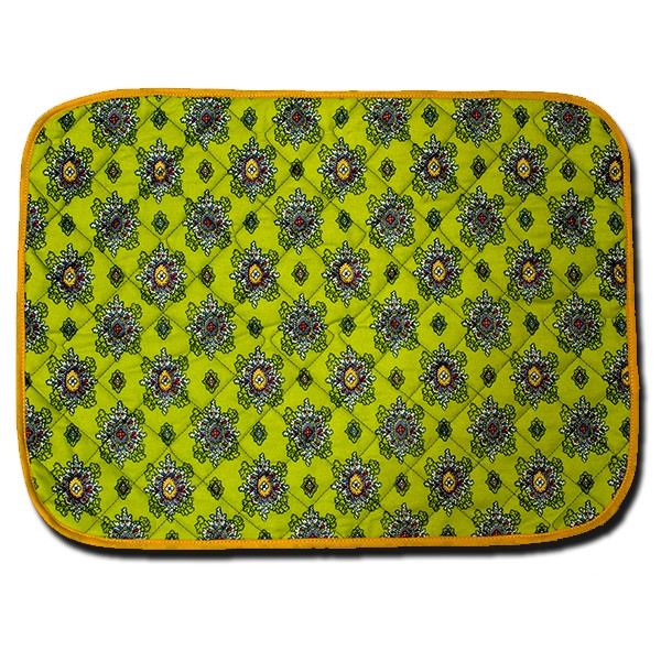Placemat Calisson Green