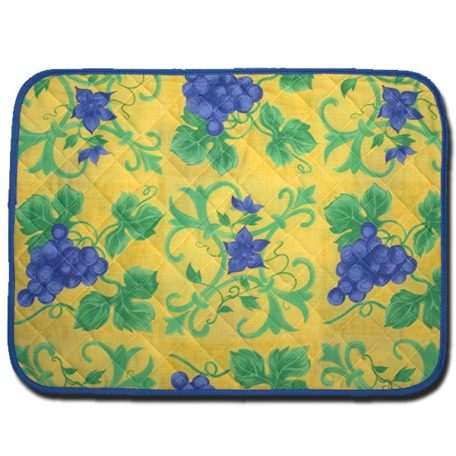 Placemat Raisin Yellow