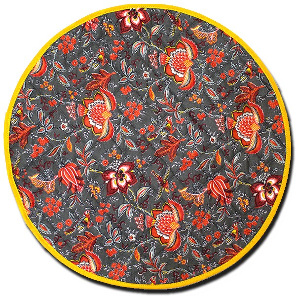 Placemat Manosque Round Rust