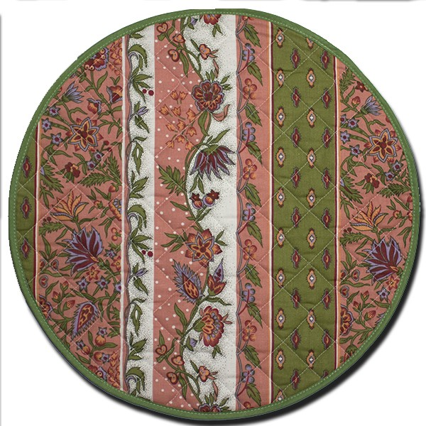 Placemat Maosque Pink and Green