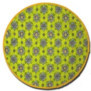 Placemat Round Calisson Green