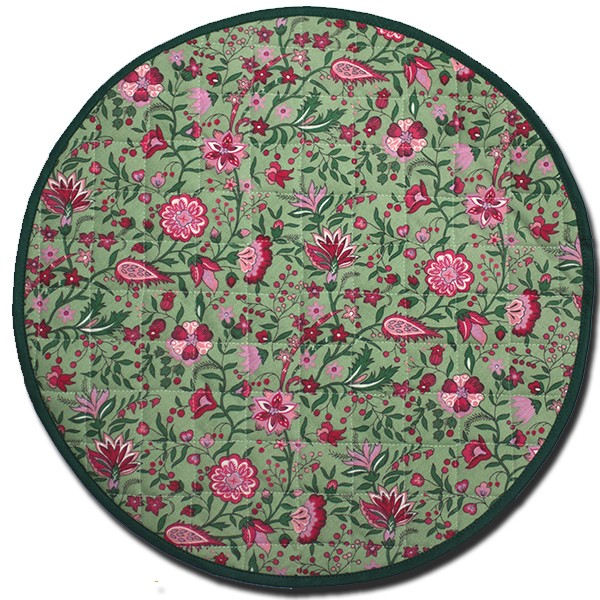 Placemat Yvette Green Round
