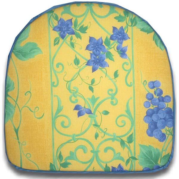 Chair Pad Raisin Yellow