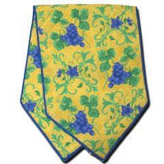 Raisin Table Runner Yellow