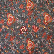 Quilted Fabric from Provence Design Manosque Rust