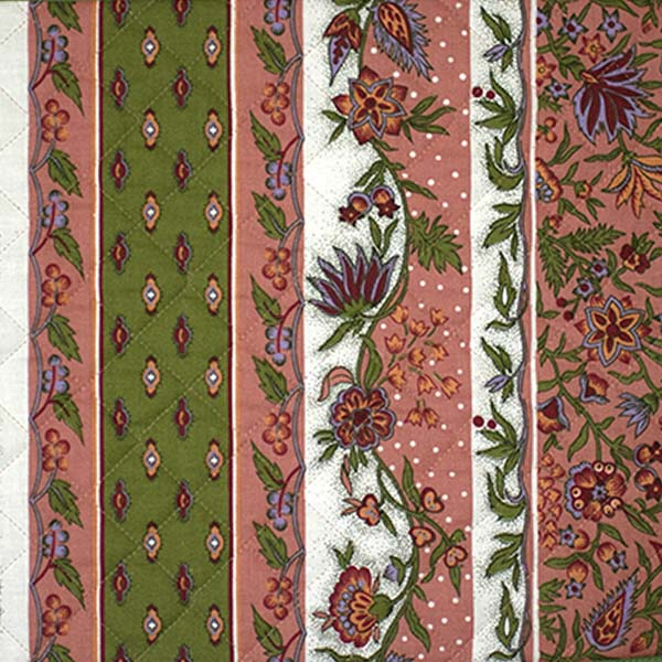 Quilted Fabric Manosque Collection A Touch Of Provence