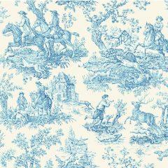 toile de jouy blue