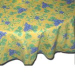 Table Cloth Raisin Yellow