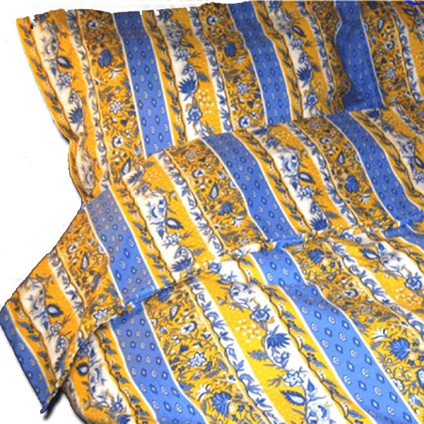 Bedding from Provence Manosque Blue & Yellow