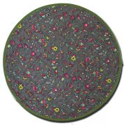 Placemat Round Yvette Dark Green