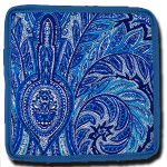 Coaster Manosque Blue and White