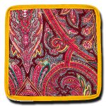 Coaster Manosque Red and Yellow