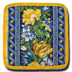 Coaster Royal Blue and Yellow