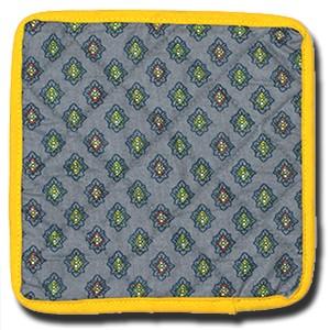 Coaster Calisson Green (Backside)