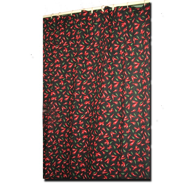Shower Curtain Chili Pepper Collection A Touch Of Provence