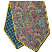 Table Runner Manosque Green and Red