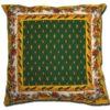 Pillow Case Manosque Green and Yellow