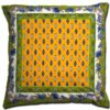 Pillow Case Manosque Yellow and Green