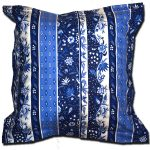 Pillow Case Manosque Blue and White Extra Large