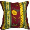 Pillow Case Uzes Red and Yellow Extra Large