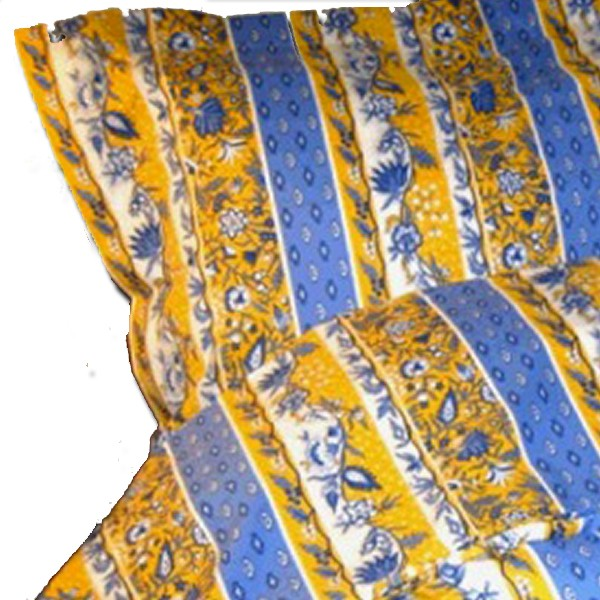 Sham Manosque Blue and Yellow