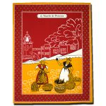 Dish Towel Provence Red and Yellow