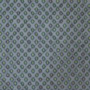 Quilted Fabric from Provence Design Calisson Green