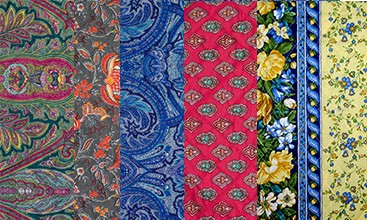 Quilted Fabric from Provence