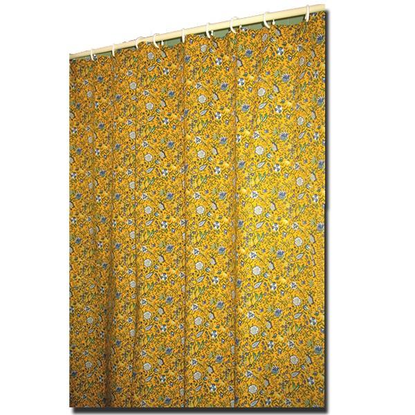 Shower Curtain Yvette Yellow