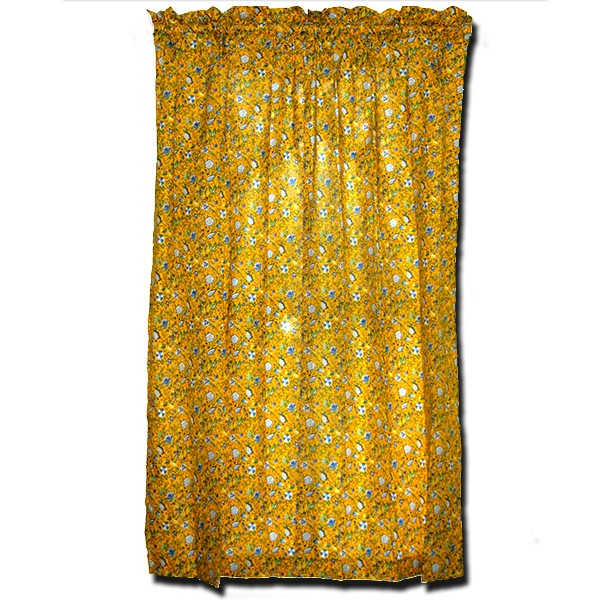 Window Treatment Yvette Yellow