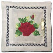 Lavender Pillow Sachet Red Rose
