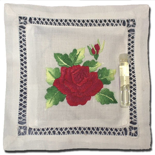 Lavender Pillow Sachet Red Rose