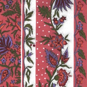 Fabric by the Yard Provence Design Manosque Pink and Green
