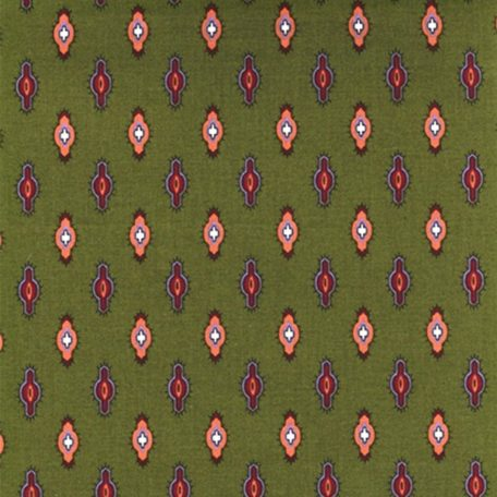 Fabric by the Yard Joucas Design Green