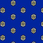 Fabric by the Yard Calisson Design Dark Blue