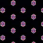 Fabric by the Yard Calisson Design Dark Black