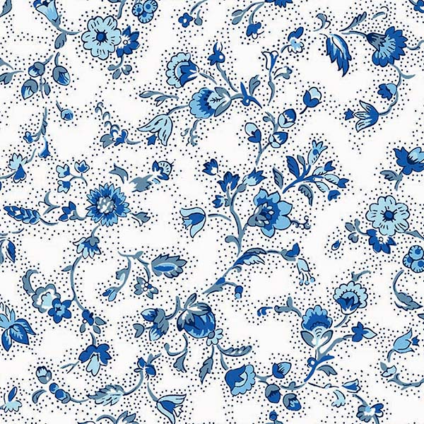 Fabric by the Yard Yvette Design White