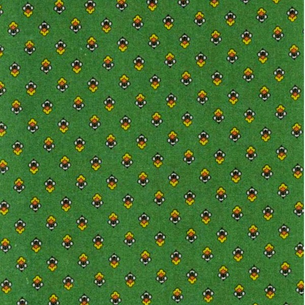 Fabric by the Yard Magalie Design Green