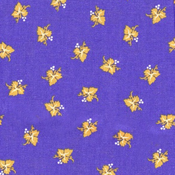 Fabric by the Yard Muscadet Design Blue